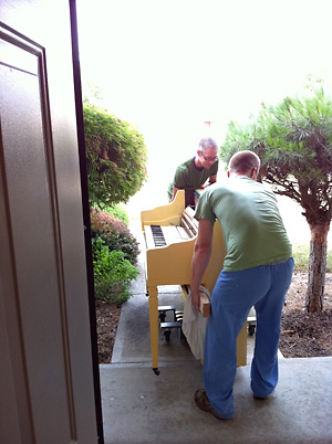 How We Painted Our Piano 187 Betsy King Photography